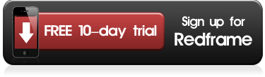 Click to signup for a free 10 day trial of Redframe